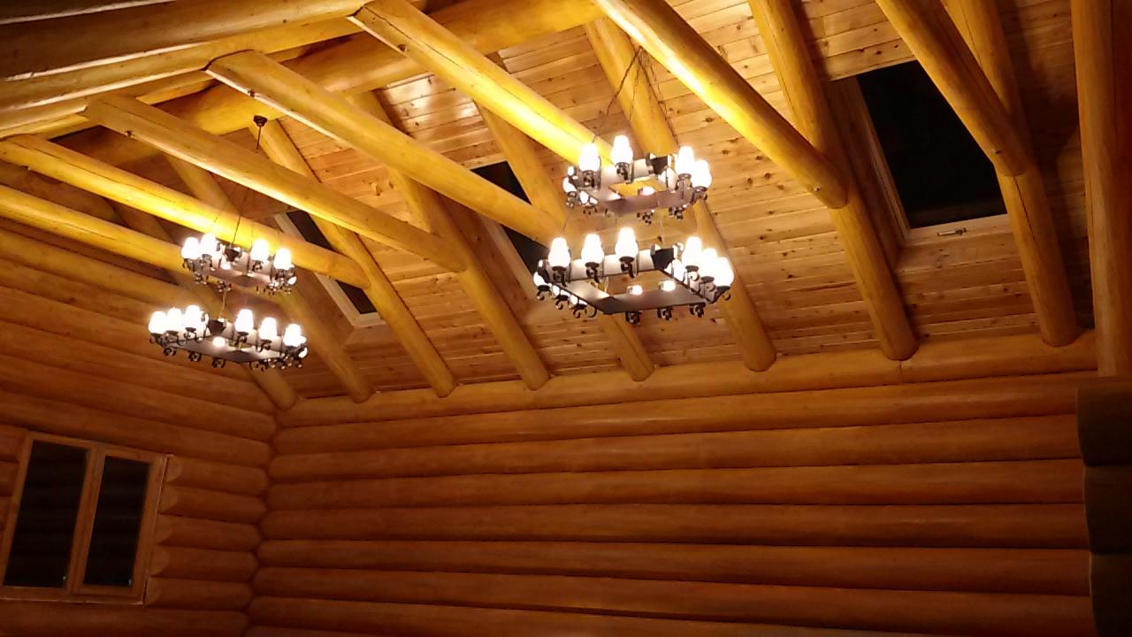 Decor interior din lemn